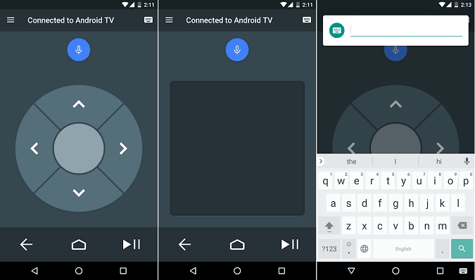 تطبيق Android TV Remote Control