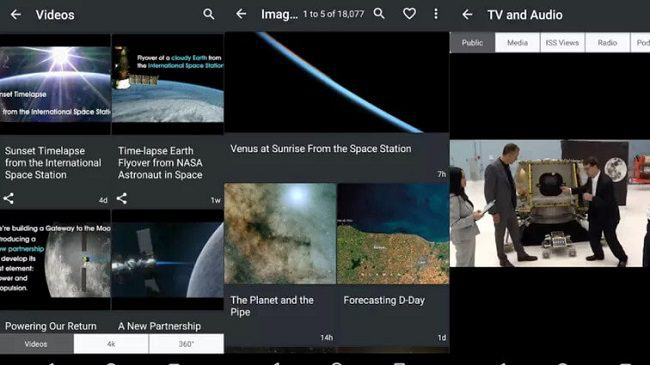 تطبيق NASA