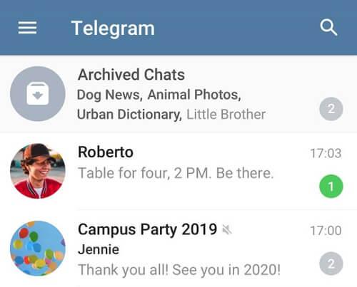 مزايا تجعل Telegram أفضل من WhatsApp 2
