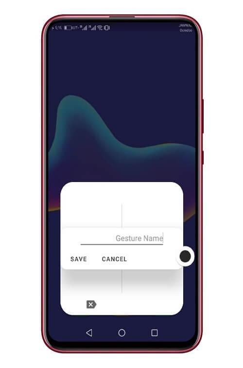افتح أي تطبيق أو رابط في هاتف الأندرويد عبر الرسم على الشاشة 5