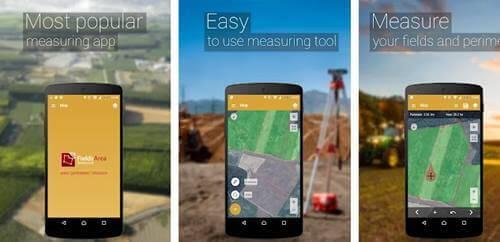 تطبيق GPS Field Area Measure