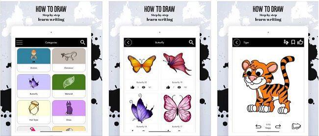 تطبيق How to Draw