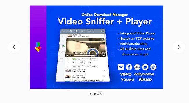 إضافة Online Download Manager