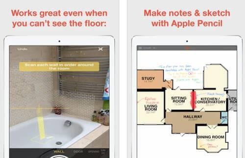 تطبيق RoomScan Pro