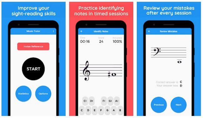 تطبيق Music tutor sight read
