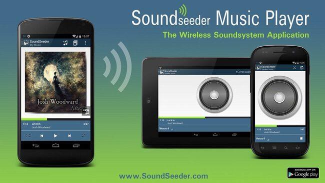 تطبيق SoundSeeder