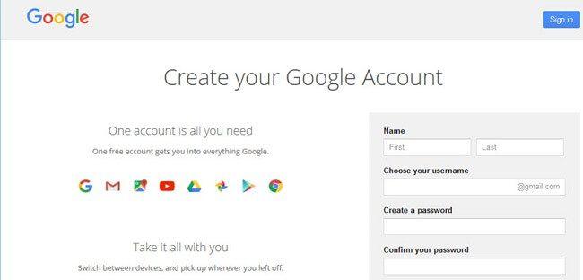 موقع Gmail