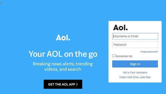 موقع AOL Mail
