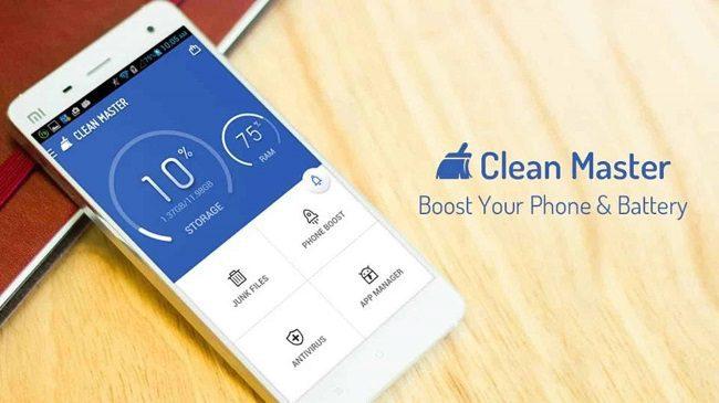 تطبيق Clean master ذاكرة الوصول العشوائي
