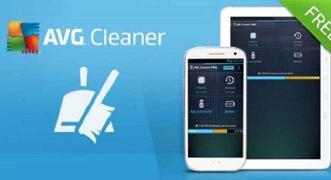 تطبيق AVG cleaner