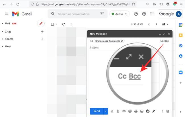 اخفاء عناوين المستلمين في Gmail 5