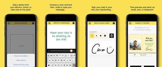 تطبيق Justwink greeting cards