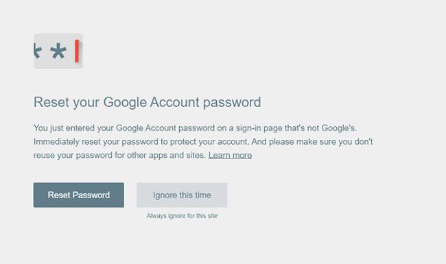 إضافة Password Alert