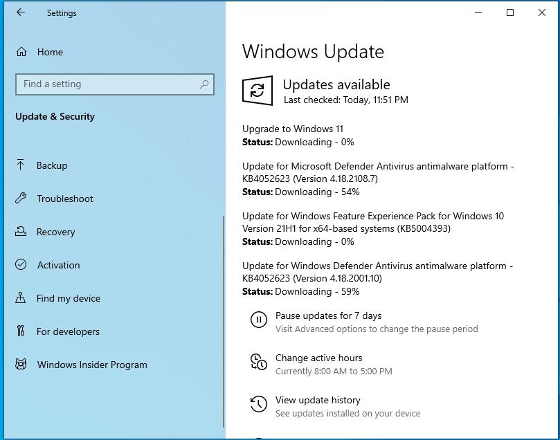 نظام التشغيل Windows 11 5