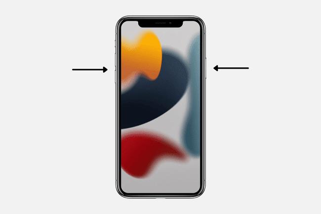إعادة تشغيل هاتف الآيفون باستخدام Face ID