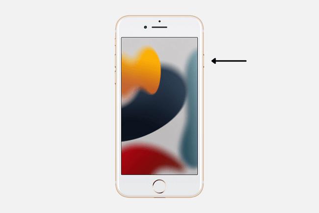 إعادة تشغيل هاتف الـ iPhone باستخدام زر الصفحة الرئيسية
